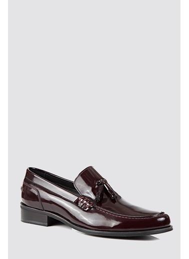 D'S Damat Klasik Ayakkabı Bordo